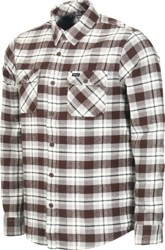 RVCA That'll Work Flannel - dark chocolate