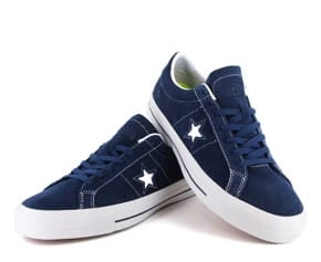 Converse One Star Pro - Navy Suede Now Available