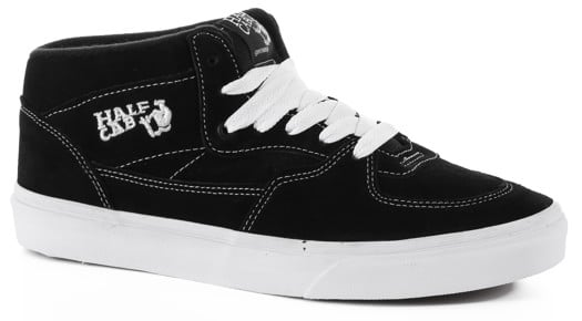 Vans Classic Half Cab Skate Shoes - black - view large