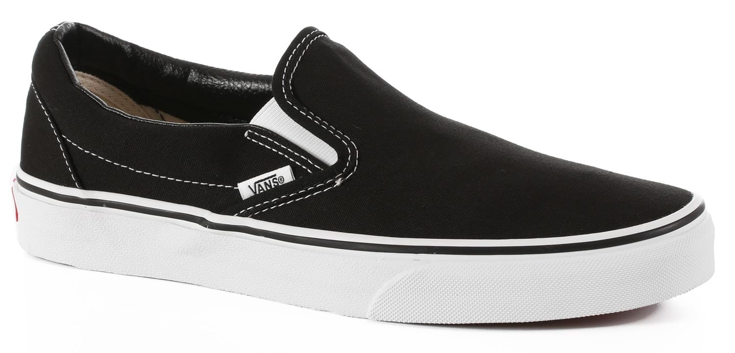Vans Classic Slip-On Shoes - black - Free Shipping