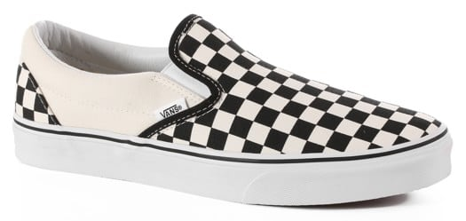 Vans Classic Slip-On Shoes - black/white checker - view large