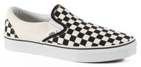Vans Classic Slip-On Shoes - black/white checker