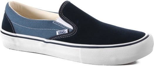 Vans Slip-On Pro Shoes - (two-tone) navy/stv navy - view large