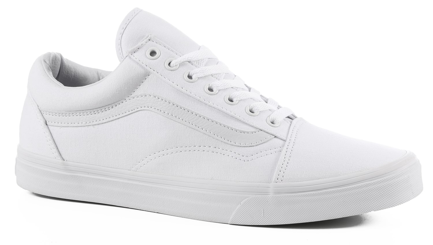 vans old skool skate shoes true white free shipping. Black Bedroom Furniture Sets. Home Design Ideas