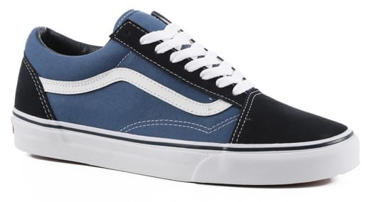Vans Old Skool Skate Shoes - navy - view large
