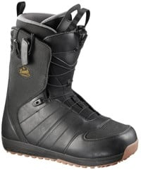 Salomon Launch Snowboard Boots 2017 - black/detroit/black