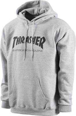 Thrasher Skate Mag Hoodie - grey - view large