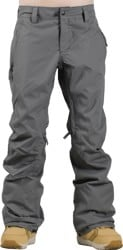 686 Women's Authentic Standard Insulated Pants 2017 - steel