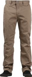 RVCA Week-End Pants - dark khaki
