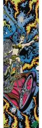 MOB GRIP Dirty Donny Graphic Skateboard Grip Tape - biker chick