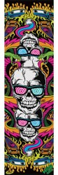 MOB GRIP Dirty Donny Graphic Skateboard Grip Tape - skull pinball