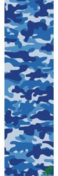 MOB GRIP Camo Graphic Skateboard Grip Tape - blue camo