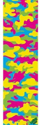 MOB GRIP Camo Graphic Skateboard Grip Tape - multi color camo
