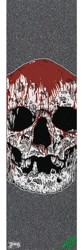 MOB GRIP Funeral French Graphic Skateboard Grip Tape - big skull