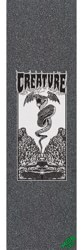 MOB GRIP Funeral French Graphic Skateboard Grip Tape - snake