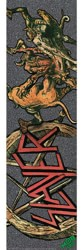 MOB GRIP Slayer Graphic Skateboard Grip Tape - pentagram demons