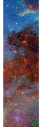 MOB GRIP Space Out Graphic Skateboard Grip Tape - space 1