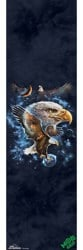 MOB GRIP The Mountain Graphic Skateboard Grip Tape - space eagle