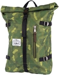 Poler Classic Rolltop Backpack - green furry camo