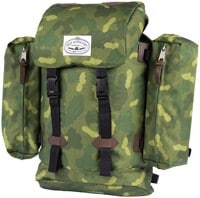 Poler Classic Rucksack Backpack - green furry camo