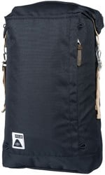 Poler Roll Top Backpack - black