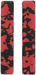 Crab Grab Grab Rails - red & black swirl