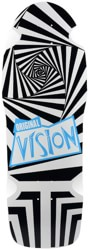 Vision Original Vision 10.0 OG Skateboard Deck - black/white screenprint
