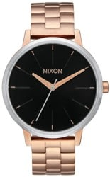Nixon Kensington Watch - rose gold/black sunray