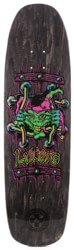 Black Label Emergency Lucero X2 8.88 Skateboard Deck - black stain