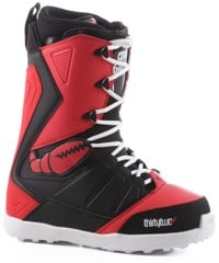 Thirtytwo Lashed Crab Grab Snowboard Boots 2017 - black/red