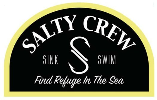 Salty Crew Buoy Sticker - black - view large