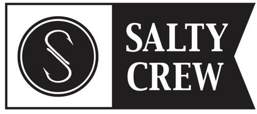 Salty Crew Salty Alpha Sticker - black - view large