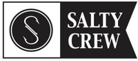 Salty Crew Salty Alpha Sticker - black