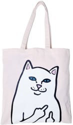 RIPNDIP Lord Nermal Canvas Tote Bag - natural