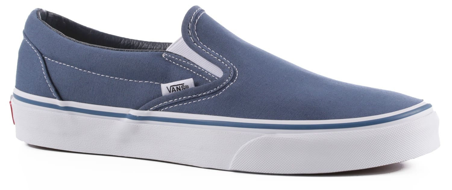 Vans Classic Slip-On Shoes - navy - Free Shipping