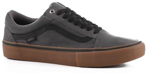 bc43c2048d0 Vans Old Skool Pro Skate Shoes - grey black gum - Free .
