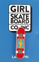 Girl Skateboards Enamel Pin