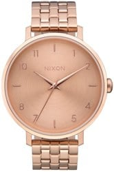 Nixon Arrow Watch - all rose gold