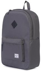 Herschel Supply Heritage Backpack - charcoal/black native rubber