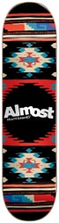 Almost Aztek 8.0 Skateboard Deck - night