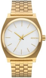 Nixon Time Teller Watch - gold/white