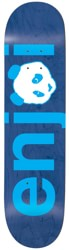Enjoi No Brainer 8.0 Skateboard Deck - blue