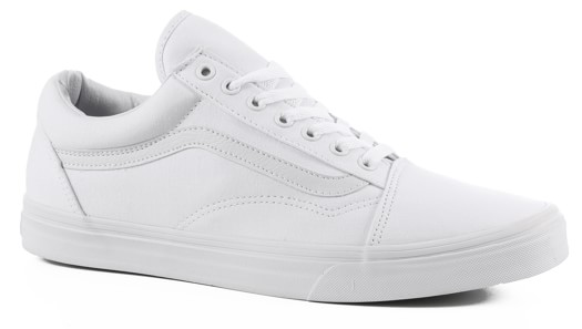 Vans Women's Old Skool Shoes - true white - view large