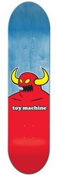Toy Machine Monster 8.125 Skateboard Deck - blue
