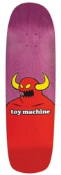 Toy Machine Monster 9.0 Skateboard Deck - pink stain