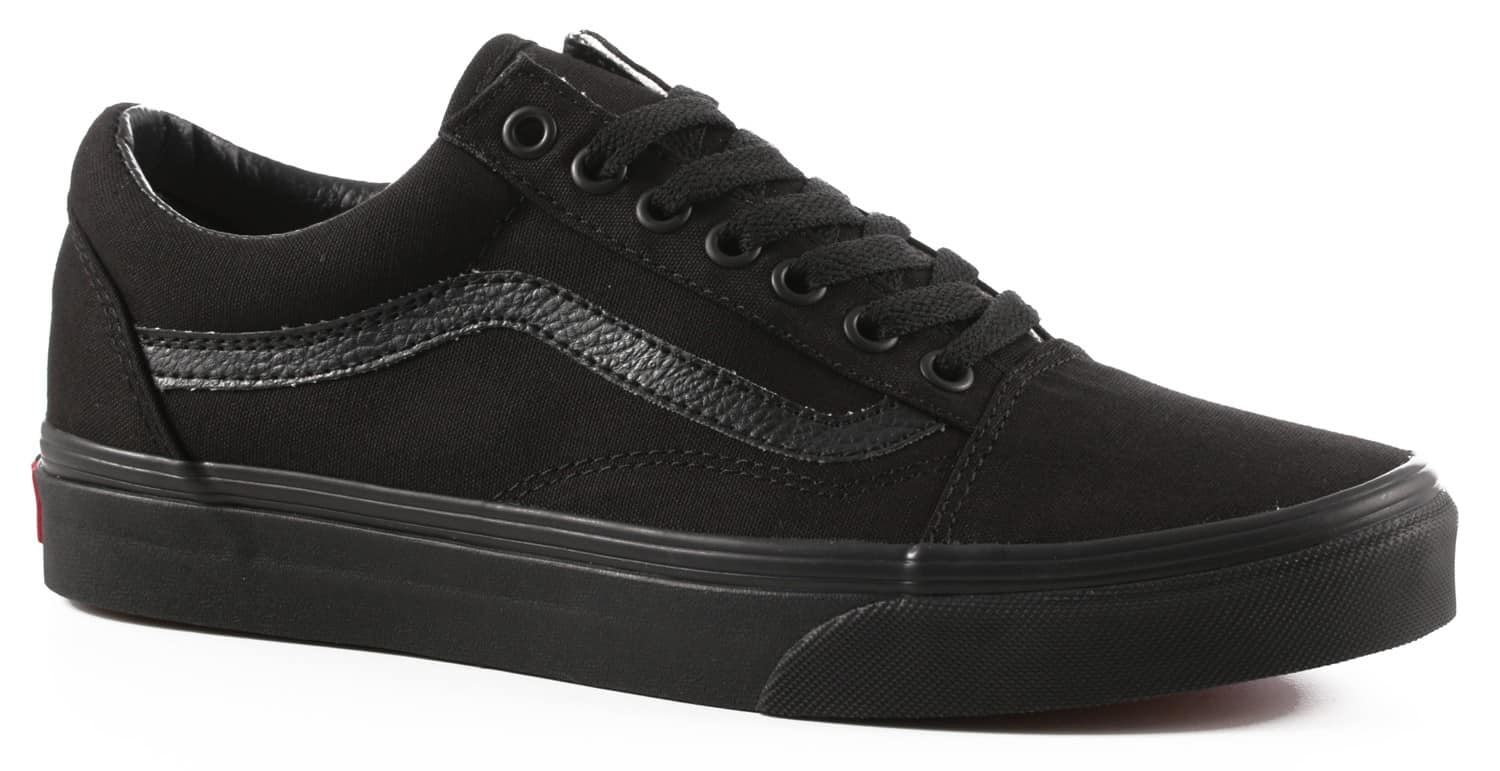 vans womens old school black