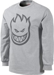 Spitfire Bighead L/S T-Shirt - athletic heather