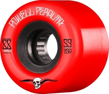 Powell Peralta G-Slides Skateboard Wheels - red (85a) - view large