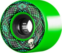 Powell Peralta Snakes Skateboard Wheels - green (75a)