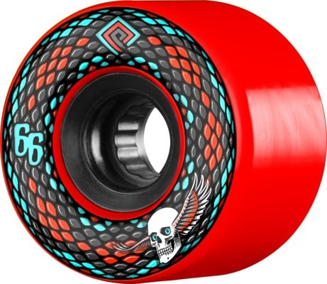 Powell Peralta Snakes Skateboard Wheels - red (75a) - view large